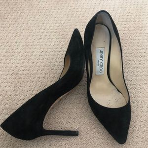 Jimmy Choo suede shoes